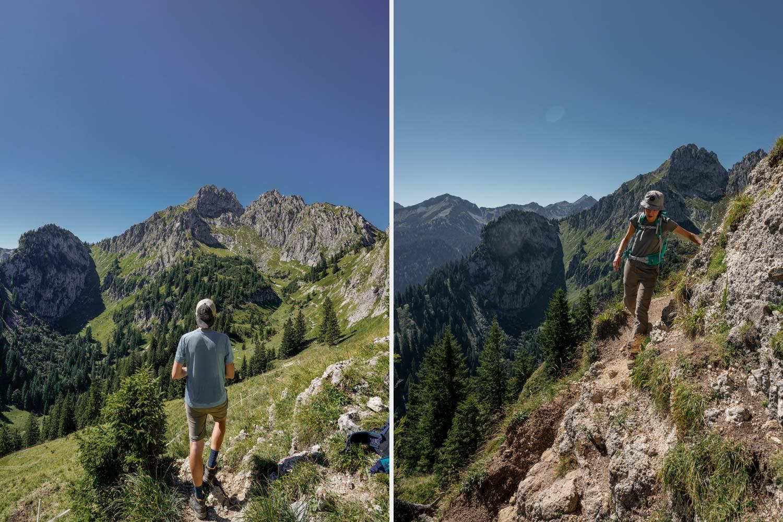Klammspitze und Brunnenkopf