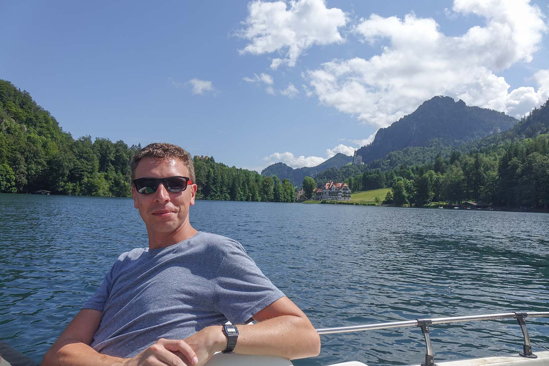 Kristallklares Wasser und ein guter Rückzugsort vom Trubel in Schwangau