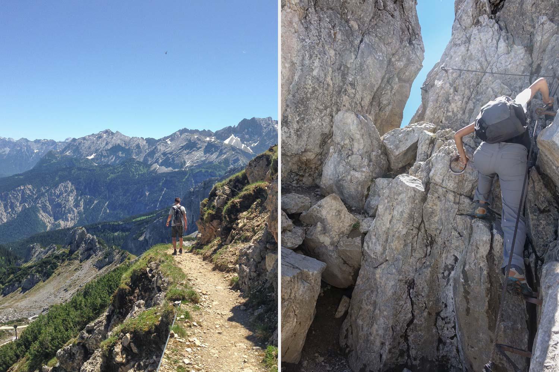 beeindruckende Wanderwege rund um die Alpspitze