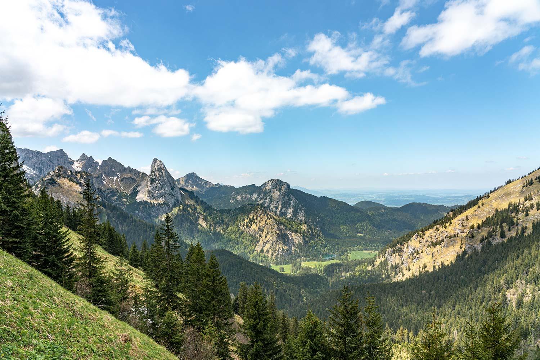 Wandern in den Ammergauer Alpen