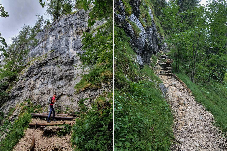 die letzten Höhenmeter Richtung Pendling Gipfel