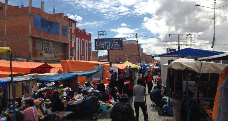 La Paz in Bolivien
