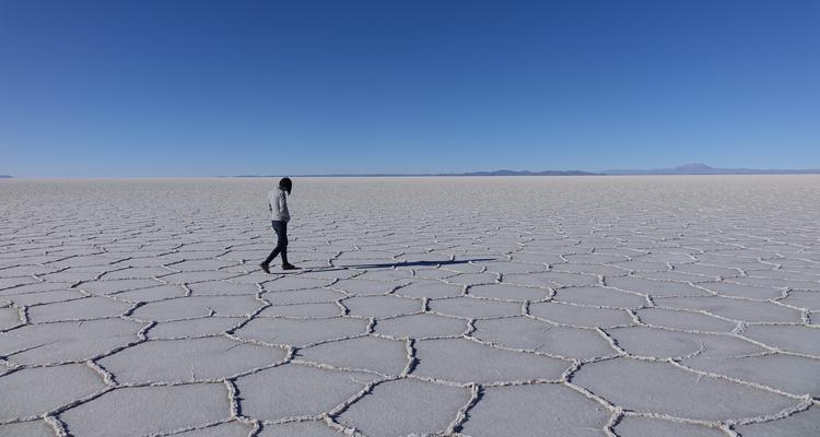 Uyuni Salzwüste Bolivien