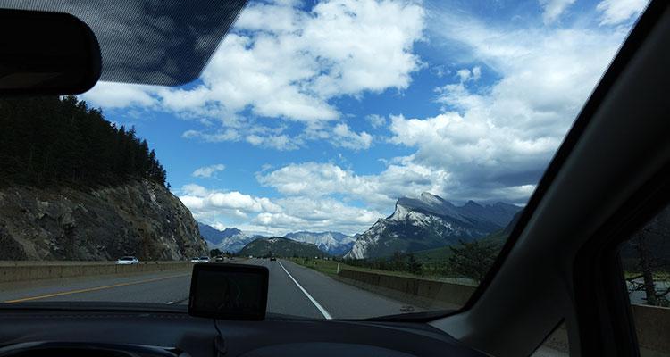 Unterwegs im Banff Nationalpark