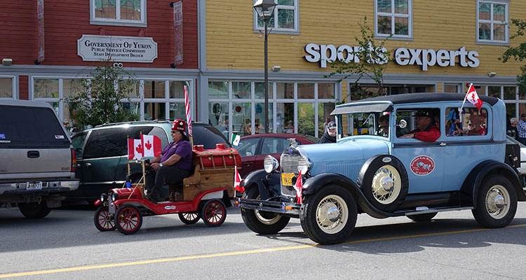 Canada Day in Whitehorse