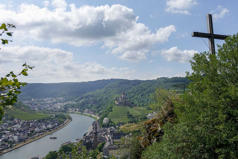 Ausblick vom Pinnerkreuz