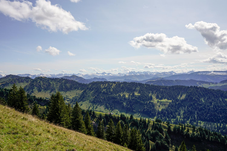 360 Grad Alpenpanorama vom Hochgrat