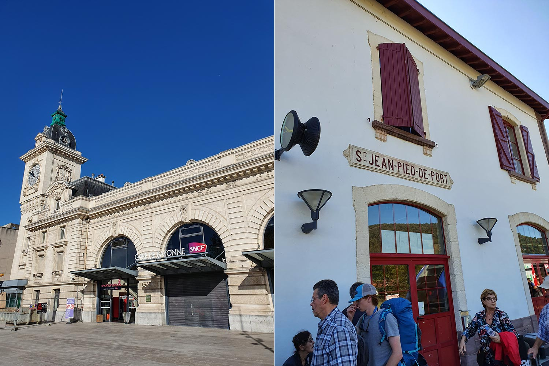 Bahnhof Bayonne & SJPP