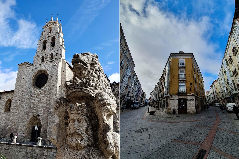 Jakobsweg Burgos Altstadt