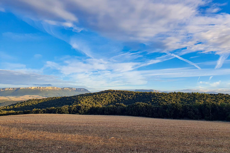 bergige Landschaft von Navarra