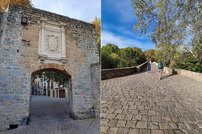 Stadtmauer von Pamplona