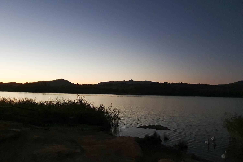 Sonnenaufgang Logroño