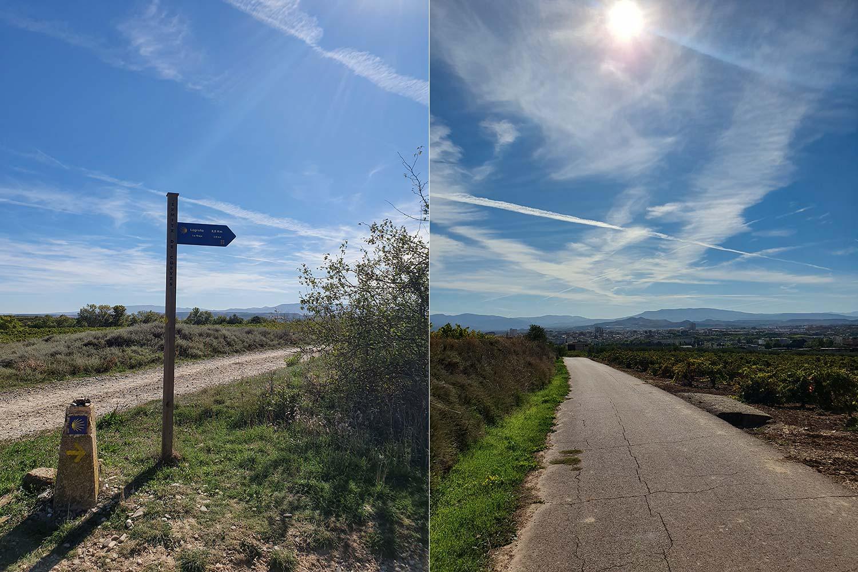 Jakobsweg Viana - Logroño