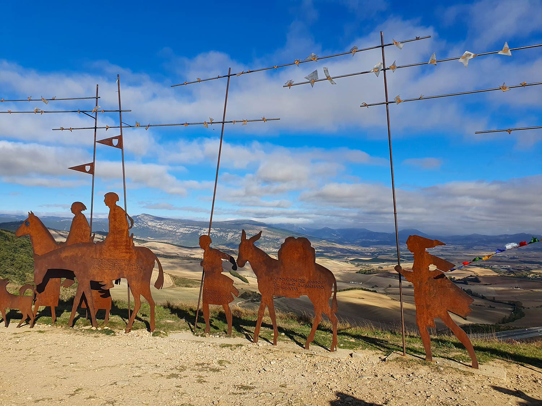 Skulptur von Alto del Perdón
