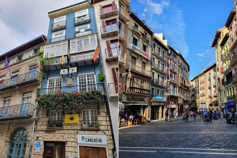Altstadt von Pamplona