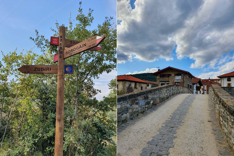 Zubiri, ein süßes baskisches Dorf