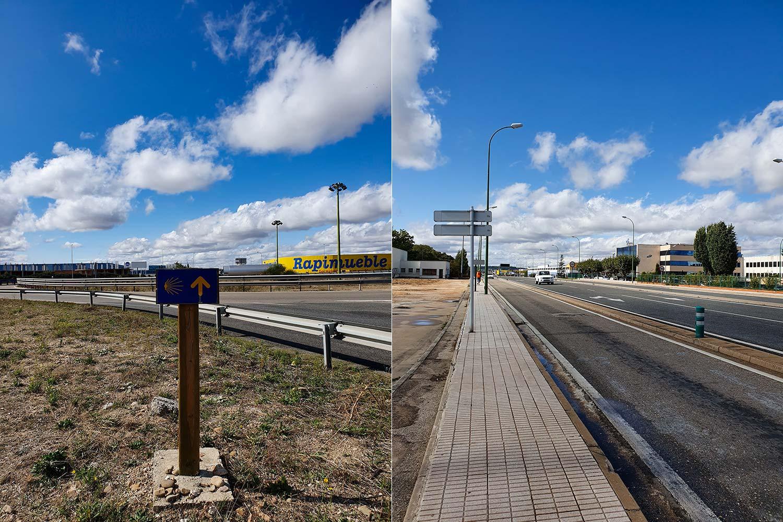 Jakobsweg unterwegs nach Burgos