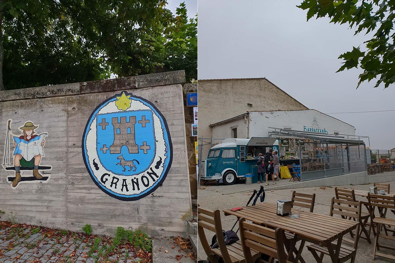 Jakobsweg Stadt Grañón