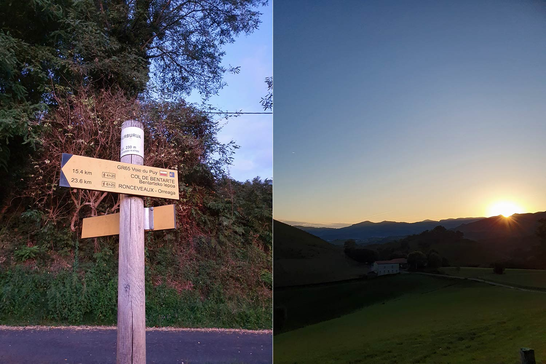 Sonnenaufgang Pyrenäen
