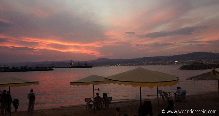 aqaba-sonnenuntergang-rotes-meer
