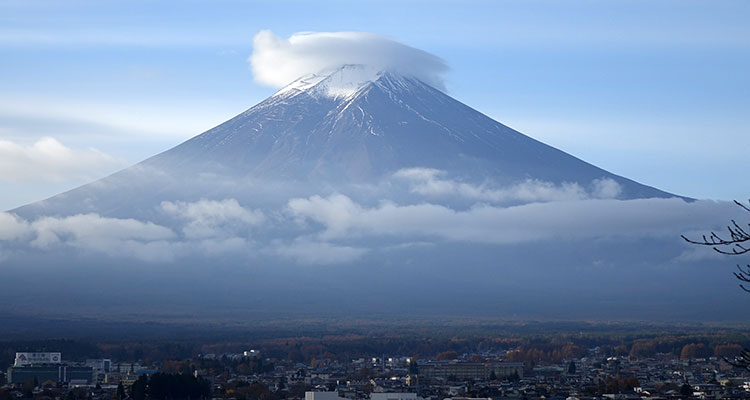 Fujisan in Japan