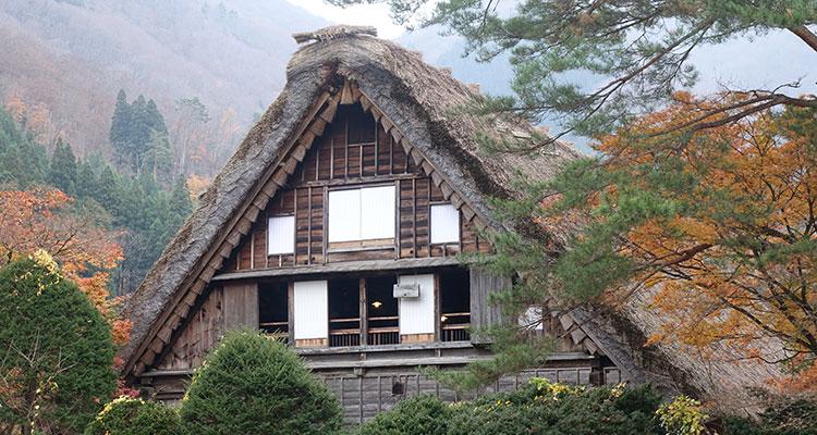 Shirakawa in Japan