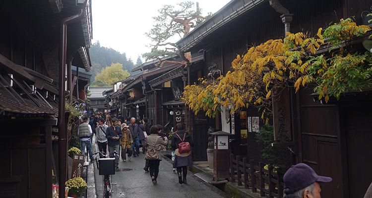 Takayama in Japan