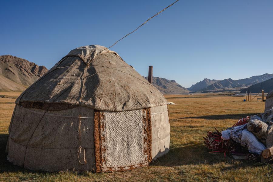 Reisetipps Kirgisistan - Yurt Camp