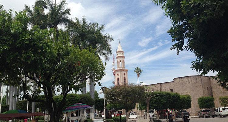 Zentrum von El Fuerte