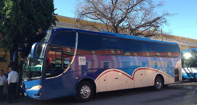 Bus von El Fuerte nach Topolobampo
