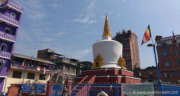 Swayambhunath in Kathmandu