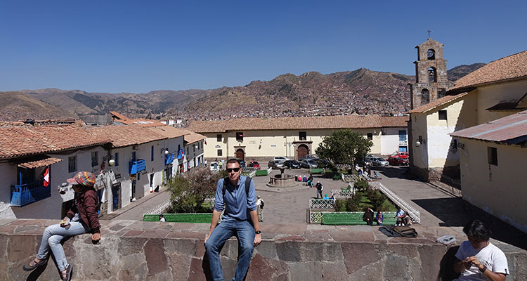 Unterwegs in Cusco