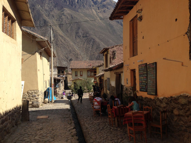 Ollantaytambo in Peru