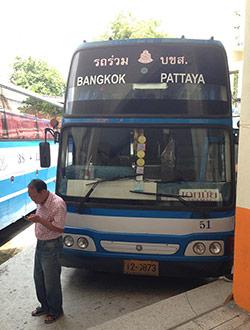 Bangkok to pattaya bus online booking