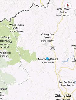 chiang-mai-trekking-map