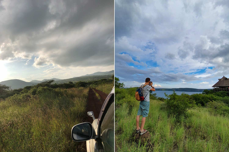 Anfahrt und kleine Fototour am See