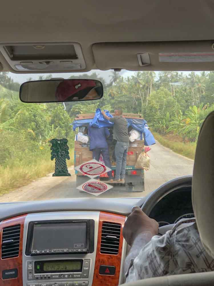 Daladala Sammelbus Sansibar