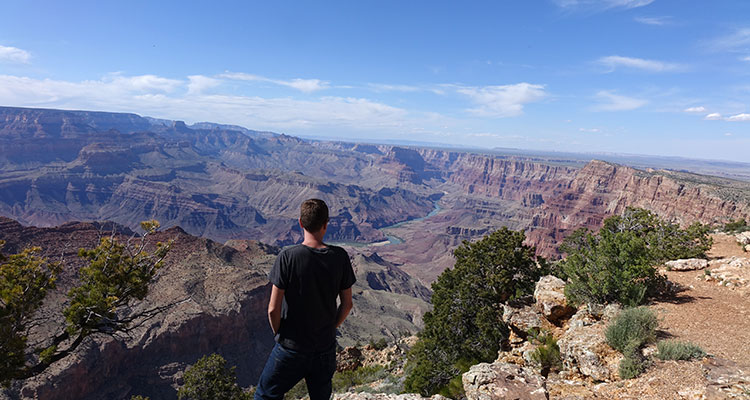 Unterwegs am Grand Canyon