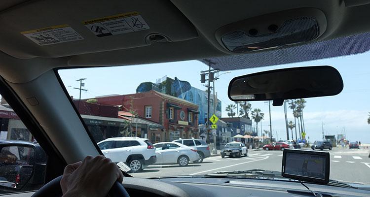 Unterwegs in Los Angeles
