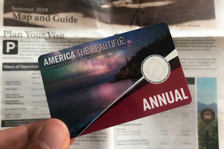 America the Beautiful Jahreskarte