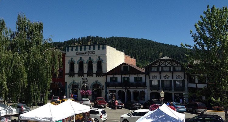 Unterwegs in Leavenworth