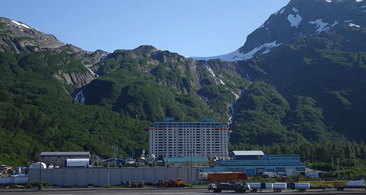Hafenstadt Whittier - Alaska