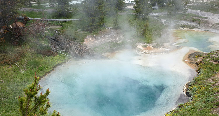 Unterwegs im Yellowstone National Park